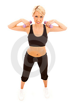 Weight Training Stock Images - Image: 19425674