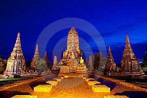 Ayutthaya Ancient Royalty Free Stock Photography - Image: 19428177