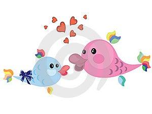 Two Fish Royalty Free Stock Image - Image: 19429746