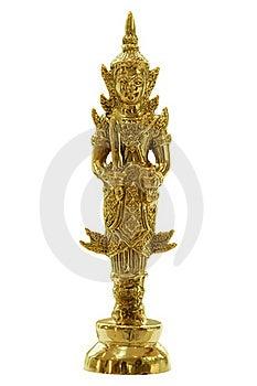 Thai Joss House Deva Doll Stock Photo - Image: 19431230