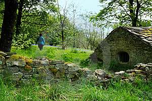 Farm House Stock Photo - Image: 19431730