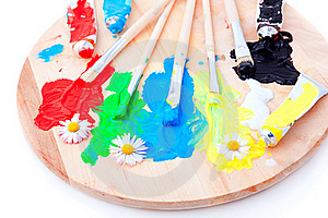 Color Paint Royalty Free Stock Image - Image: 19432176