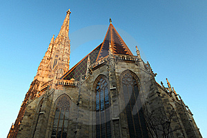 St. Stephan Cathedral In Vienna. Stock Photography - Image: 19432512
