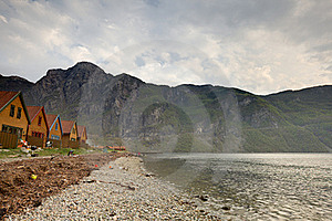Fjord Shore Stock Photography - Image: 19433042