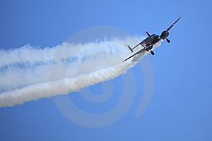 Acrobatic Twin Engine Stock Images - Image: 19433964