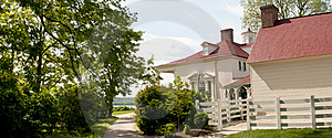 Colonial Mansion Mt Vernon Royalty Free Stock Photo - Image: 19434675