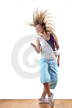 Dancer In Action Royalty Free Stock Photography - Image: 19438407