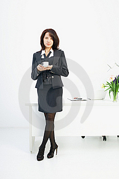 Businesswoman In The Workplace Royalty Free Stock Image - Image: 19440056