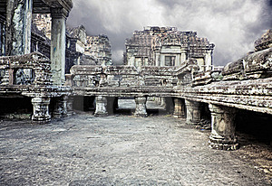 Angkor Wat Royalty Free Stock Photo - Image: 19441495
