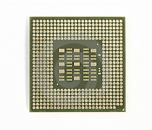 Bottom Of The Processor Royalty Free Stock Images - Image: 19441999