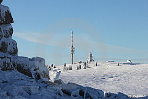 Felberg山顶 免版税库存图片 - 图片: 19443309