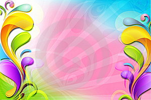 Abstract Floral Background Stock Images - Image: 19445474