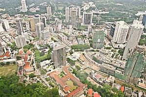 Kuala Lumpur Skyline Stock Image - Image: 19446481