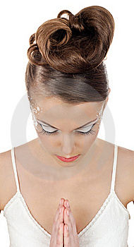 Brides Make Up Stock Image - Image: 19448281