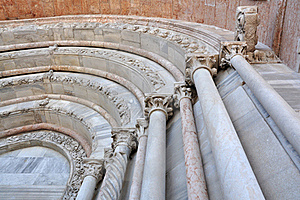 Marble Columns Stock Image - Image: 19448391