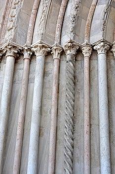 Marble Columns Royalty Free Stock Image - Image: 19448406