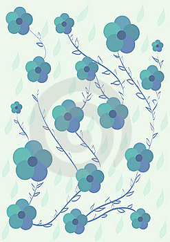 Floral Pattern Royalty Free Stock Image - Image: 19450026