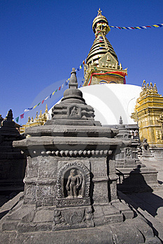 Monkey Temple Kathmandu Nepal Exterior Stock Photography - Image: 19451232