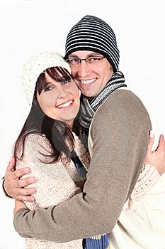 Young Couple Hugging Royalty Free Stock Photo - Image: 19453325