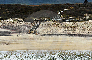 Bird's-eye View Of Beach Stock Photography - Image: 19457122