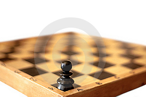 One Pawn Royalty Free Stock Photo - Image: 19458655
