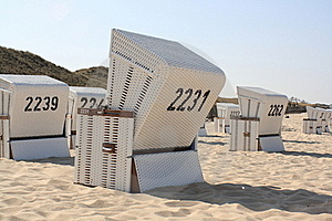 Beach Chairs Royalty Free Stock Image - Image: 19458726