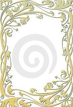 Floral Frame Stock Images - Image: 19462334