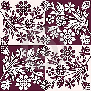 Floral Pattern Royalty Free Stock Photos - Image: 19462338