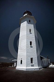 Slangkop Lighthouse Stock Image - Image: 19463511