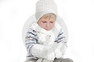 Child In Winter Clothes Stock Photography - Image: 19464102