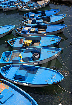 Fishboats Royalty Free Stock Images - Image: 19464109