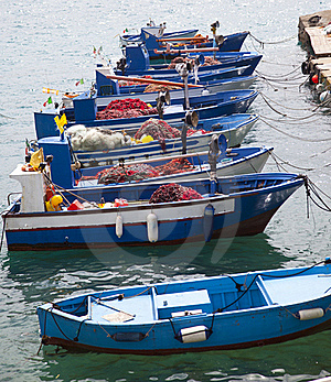 Fishboats Stock Photography - Image: 19464142