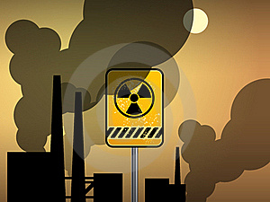 Nuclear Danger Warning Stock Photos - Image: 19464453