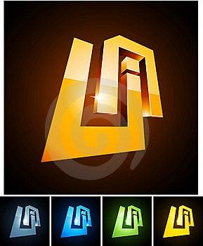 UA Vibrant Emblems. Stock Photo - Image: 19465800