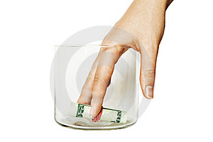 Put Money In Bank Stock Image - Image: 19465841