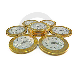 Time Is Money Royalty Free Stock Photos - Image: 19465858