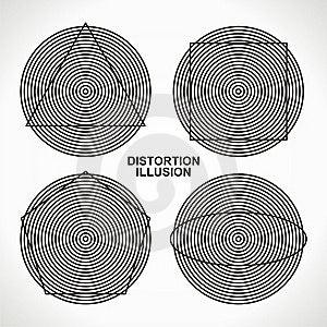 Distorsión De La Ilusión Imagen de archivo libre de regalías - Imagen: 19466746
