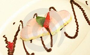 Strawberry Cake - Hearts Stock Photo - Image: 19467310