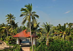 Tropical Island Paradise Resort Royalty Free Stock Photography - Image: 19467497