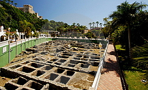Ancient Roman Salt Factory Royalty Free Stock Photo - Image: 19467865