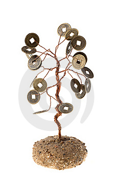 Monetary Tree Royalty Free Stock Photos - Image: 19468068