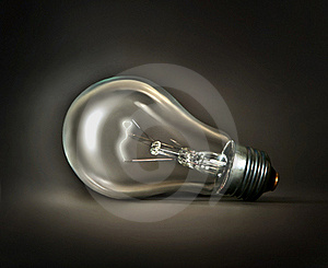 Lamp On Dark Royalty Free Stock Photo - Image: 19468965