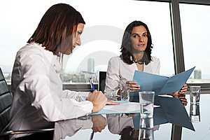 Businesswoman With Colleagues Stock Images - Image: 19469154