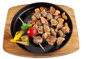 Teriyaki Chicken With Vegetables Royalty Free Stock Photos - Image: 19469348