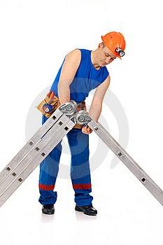 Put Together Step-ladder Stock Images - Image: 19473414
