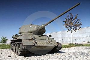 Tank T34 Royalty Free Stock Image - Image: 19473596