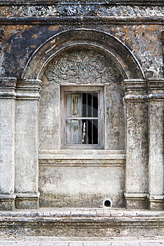 Arch Window Ancient Wall Stock Photo - Image: 19476040