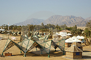 Tourist Bungalows In Sinai. Stock Images - Image: 19479454