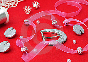 Sewing Accessories. Royalty Free Stock Photo - Image: 19479605