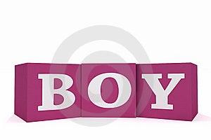 Boy On Pink Royalty Free Stock Photo - Image: 19480825